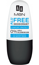 AA MEN Alu Free Deodorant Comfort Protect 50ml