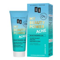 AA My Beauty Power Acne Złuszczający peeling enzymatyczny 40ml