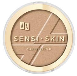 AA SENSI-SKIN Modelujący bronzer do twarzy 01 Amber 9g