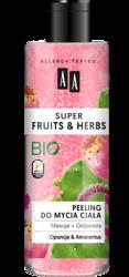 AA Super Fruits&Herbs Peeling do mycia ciała opuncja/amarantus 200ml