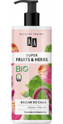 AA Super Fruits&Herbs balsam do ciała opuncja/amarantus 500ml