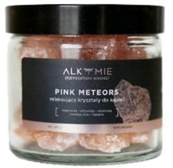 ALKMIE relaksujące kryształki do kąpieli PINK METEORS 290g