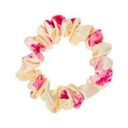 ALMANIA Scrunchie Baby Jedwabna gumka do włosów mini Kwiat wiśni