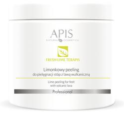 APIS Fresh Lime terApis - Limonkowy peeling do stóp z lawą wulkaniczną 500g