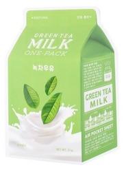 A'pieu Kojąca maska w płachcie GREEN TEA MILK One-pack