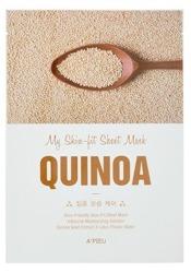 A'pieu My Skin Fit Sheet Mask Nawilżająco-ujędrniająca maseczka w płachcie QUINOA