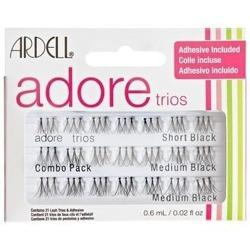 Ardell Adore Trios Combo Pack - Zestaw rzęs w kępkach 56szt.