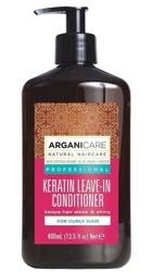 ArganiCare Leave-in Conditioner COCONUT Odżywka bez spłukiwania do włosów kręconych z olejem kokosowym 400ml