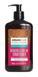 ArganiCare Leave-in Conditioner KERATIN Odżywka bez spłukiwania do włosów kręconych z keratyną 400ml