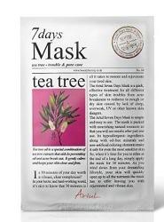Ariul 7 days Mask Tea Tree Maska w płachcie oczyszczająca 20g