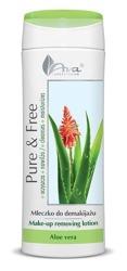 Ava Pure&Free mleczko do demakijażu aloes 250ml