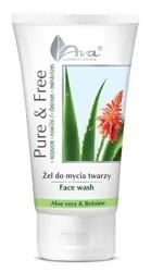 Ava Pure&Free żel do mycia twarzy aloes 150ml