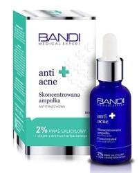 BANDI Anti Acne Skoncentrowana ampułka antytrądzikowa 2% 30ml