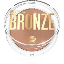 BELL #My Glow Bronze Puder brązująco-rozświetlający 9g