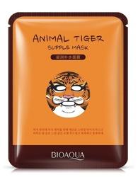 BIOAQUA Animal Tiger Supple Mask - Maska w płachcie 30g