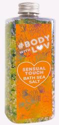 BODY WITH LOVE sól morska SENSUAL TOUCH 500g