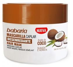 Babaria Maska do włosów Kokosowa 250ml