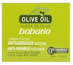 Babaria Olive Oil Przeciwzmarszczkowy krem do twarzy na noc 50ml