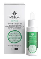 BasicLab Redukcja i zwężenie Serum zmniejszające niedoskonałości z niacynamidem 10% 30ml