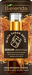 Bielenda BLACK SUGAR DETOX Detoksykująco – nawilżające serum na dzień i na noc 30g