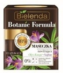 Bielenda Botanic Formula Olej z Konopi + Szafran Maseczka nawilżająca 50ml