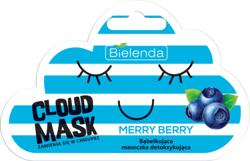 Bielenda Cloud Mask MERRY BERRY Bąbelkująca maseczka detoksykująca 6g