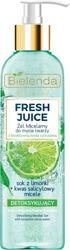 Bielenda FRESH JUICE Detoksykujący żel micelarny Limonka 190g