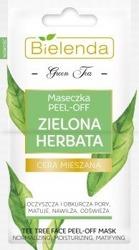 Bielenda Green Tea Maseczka Peel-off 2x5g