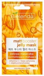 Bielenda Jelly Mask Matt Booster - Żelowa maseczka normalizująco – matująca do cery mieszanej i tłustej 8g