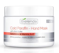 Bielenda Professional Ceramides&Vitamins A+E Zimna parafina - maska do dłoni z masłem shea 150g