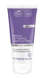 Bielenda Professional Microbiome Pro Care Równoważąco-ochronna kremowa maska do twarzy 175ml