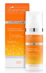 Bielenda Professional SupremeLab Energy Boost Eksfoliująca maska z kwasami i witaminą C 50g