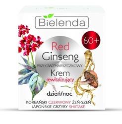 Bielenda Red Ginseng przeciwzmarszczkowy krem 60+ dzień/noc 50ml