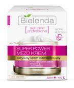 Bielenda Skin Clinic Professional Super Power Mezo Krem - Aktywny krem odmładzający na dzień i noc, 50 ml