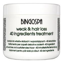 BingoSpa Kuracja SPA do włosów 40 składników 500g