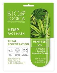 BioLogica Hemp Maska w Płachcie Absolutna Regeneracja