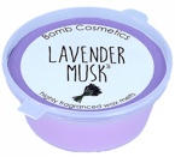 Bomb Cosmetics Wosk zapachowy LAVENDER MUSK 35g