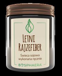 Bosphaera świeca zapachowa Letni Rajzefiber 190g