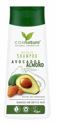COSNATURE Naturalny regenerujący szampon do włosów z awokado i migdałami 200ml