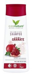 COSNATURE Naturalny zwiększający objętość włosów szampon z owocem granatu 200ml