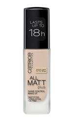 Catrice All Matt Plus Shine Control Make Up -  Podkład matujący 010 Light Beige, 30 ml