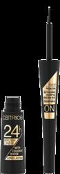 Catrice BRUSH LINER 24H Longlasting Eyeliner w płynie 010 ultra black