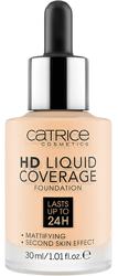 Catrice HD Liquid Coverage Płynny podkład kryjący 002 Poreclain Beige 30ml