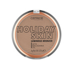 Catrice Holiday Skin Luminous Bronzer Rozświetlający puder brązujący 010 Summer In The City 8g