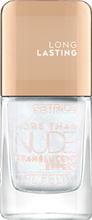 Catrice More than Nude  Lakier do paznokci 01 N-Ice Day 10,5 ml