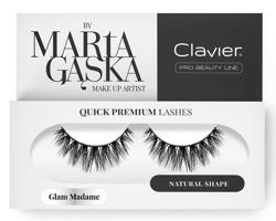 Clavier Quick Premium Sztuczne rzęsy na pasku 829 Glam madame