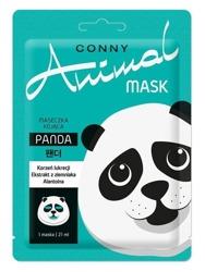 Conny Animal Mask PANDA Kojąca maska w płachcie 21ml