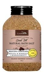 CosmoSPA Naturalna sól do kąpieli Mleczna czekolada 600g