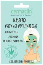 DERMAGLIN przeciwstarzeniowa maseczka do twarzy #Slow Age #Zatrzymaj czas 20g