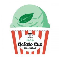 DR.MOLA Gelato Cup sheet mask Kojąca maska w płachcie Matcha 23ml